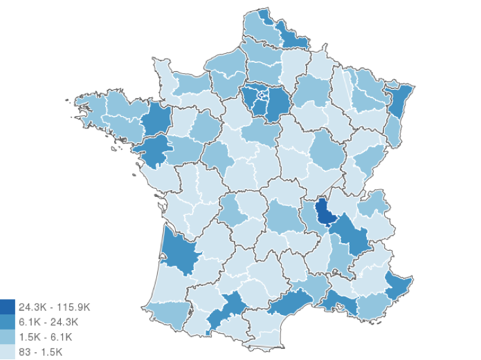 France tech locations